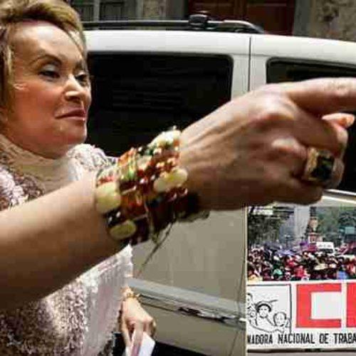 CNTE exige al gobierno quitar todas sus propiedades a Elba Esther