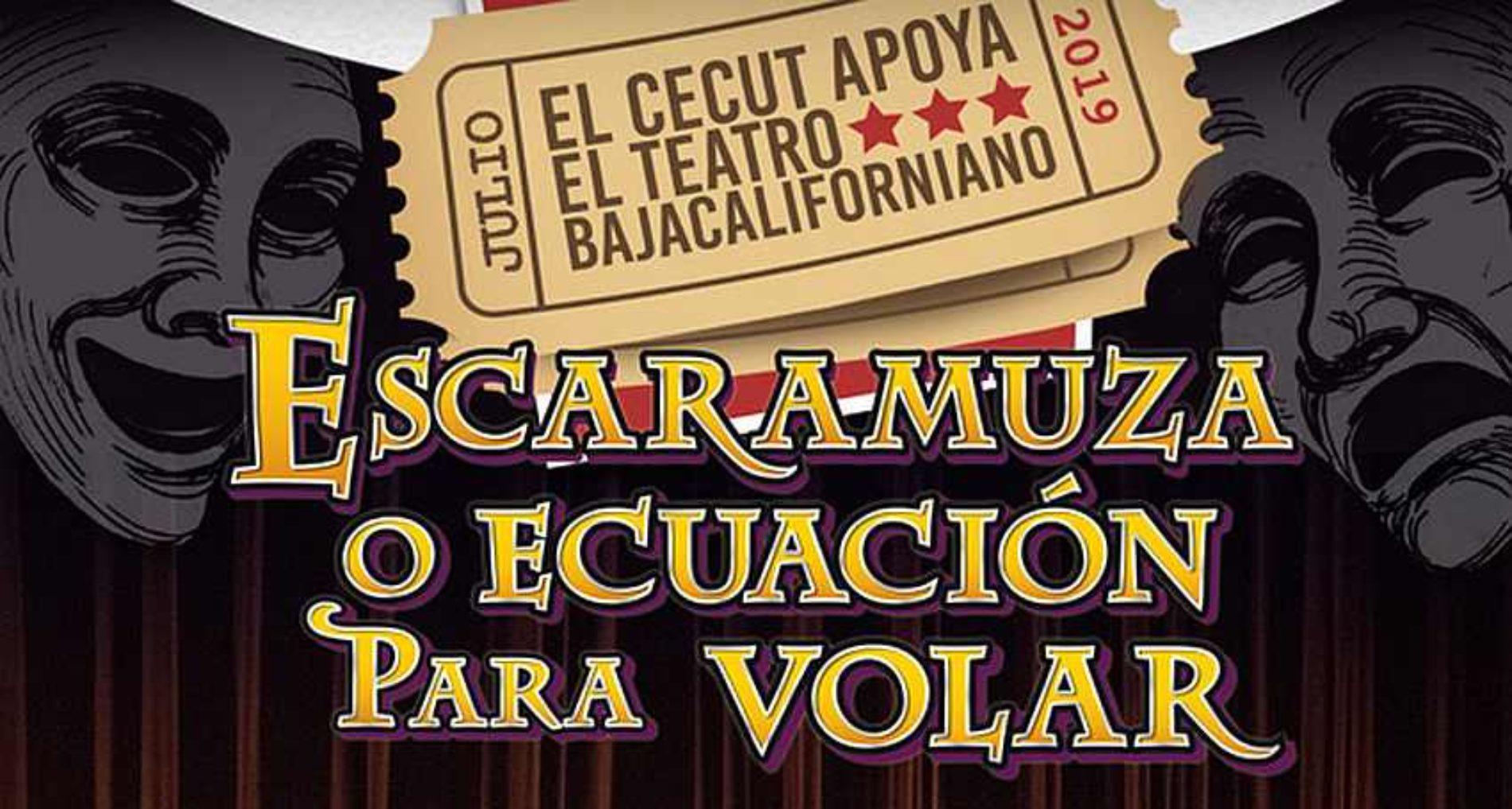 """Teatro en Resistencia presenta en el CECUT """"Escaramuza o ecuación para volar"""""""